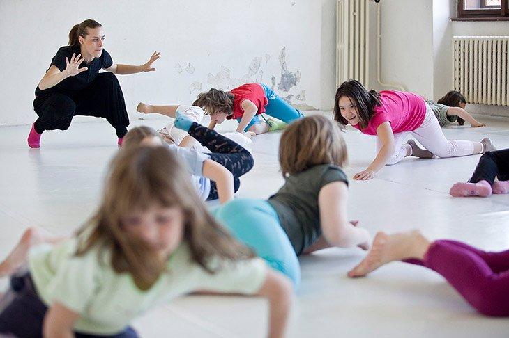 Duncan Institut, výuka tance